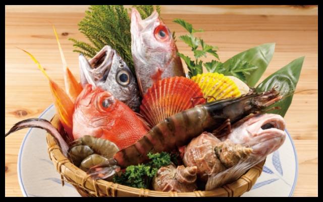 満足度No1は魚介料理。高級まぐろ・金目鯛・ムツ・特大生牡蠣
