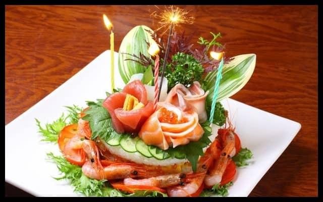 誕生日や記念日のお祝い